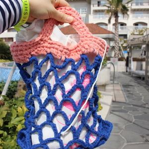Mermaid Net Bag(무료패턴)
