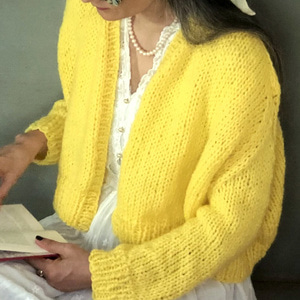 Rhinebeck Cardigan - dream(100% merino wool)