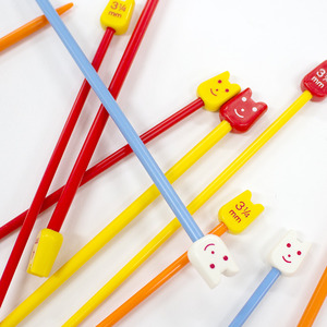 Kids Smile Knitting Needles