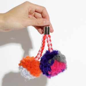 Pompom Key Ring Kit